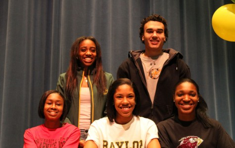Five Seniors Sign With Division One Schools