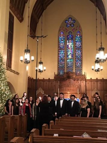 Choral choir sings with San Antonio's Chamber Choir