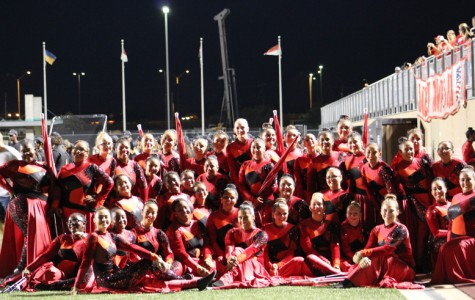 Colorguard heading to world competition
