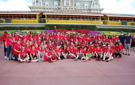 Band goes to DisneyWorld