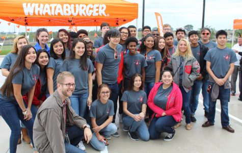 Choir helps open up local Whataburger