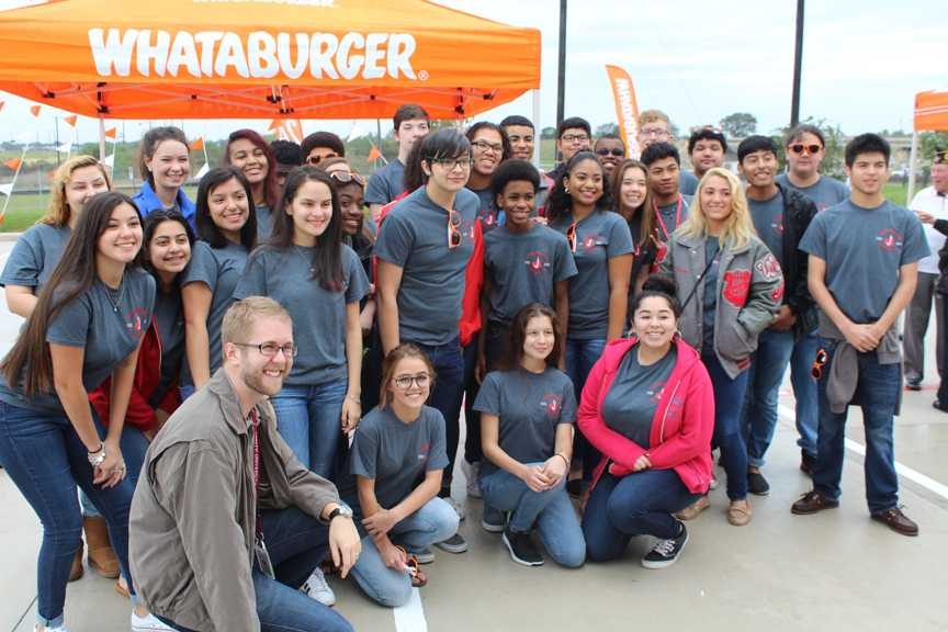 Choir helps open up local Whataburger