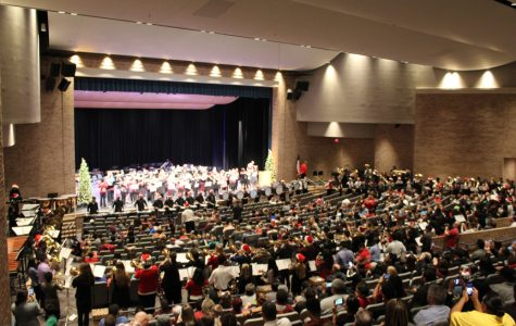 Band concludes fine arts holiday concert season