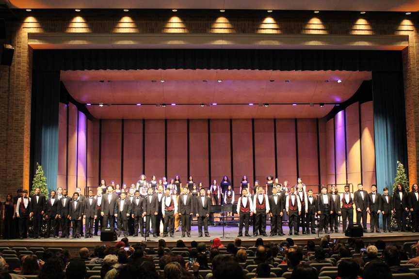 Choir holds annual winter concert