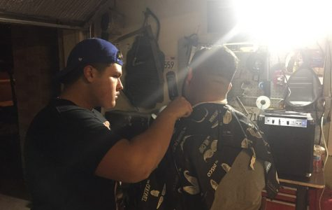 Junior Esteban Avelar pursuing his dream to become a barber