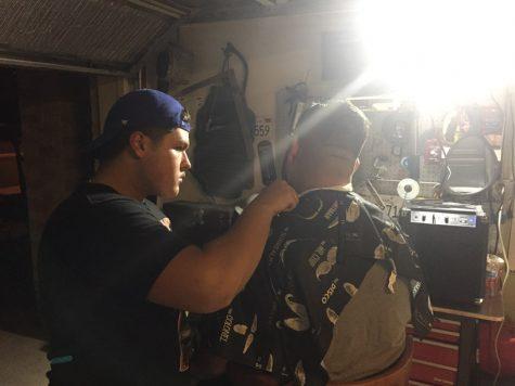 Junior Esteban Avelar pursuing his dream to become a barber