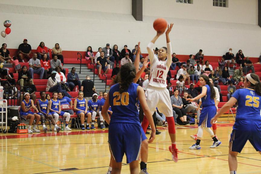 Girls basketball end season as co-district champs