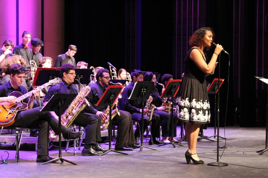 Jazz ensemble host first annual jazz show