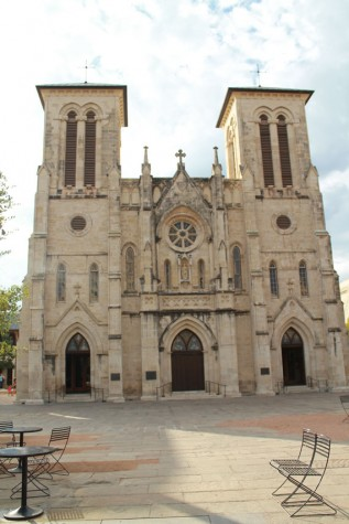 The San Fernando Cathedral is the oldest standing structure in Texas, and thought of as one of the most haunted.