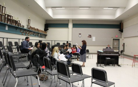 Choir Preparing For May Rocket Revue Show