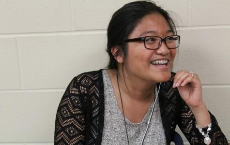 Despite constant moving, Senior Rachel Villacorta succeeds in school
