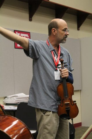 New orchestra director looks to build program