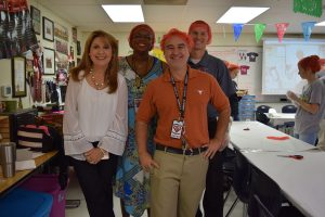Ms. Hill, Ms. Keane Dawes, Mr. Matthews, Mr. King, and Ms. Edwards are facilitators for the program.