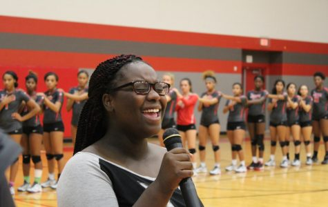 Sophomore Arajanae Hubbard shined at volleyball games