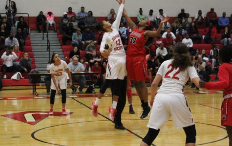 Lady Rockets blast by Wagner