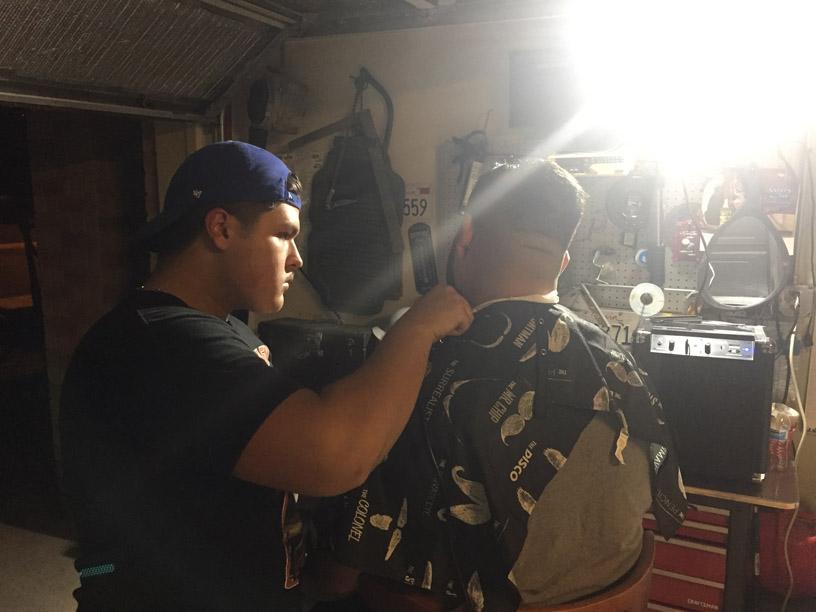 Junior+Esteban+Avelar+pursuing+his+dream+to+become+a+barber