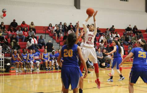 Girls basketball end season as co-district champs