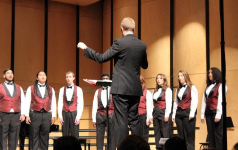 Choir puts on first concert of the year
