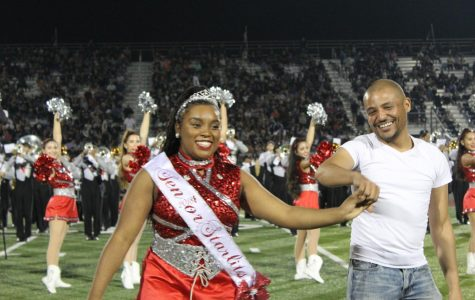 Senior Qiara Luckett picks Mr. Cabrera for her senior dance