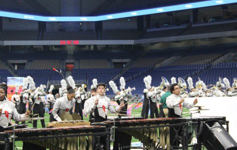 Band ends marching season on a high note