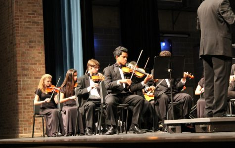 Orchestra performs their annual winter concert