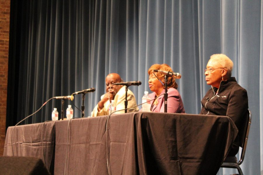 Freedom Riders speak at Judson High School