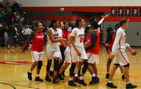 Lady Rockets beat the Knights in an epic district game; tie for first