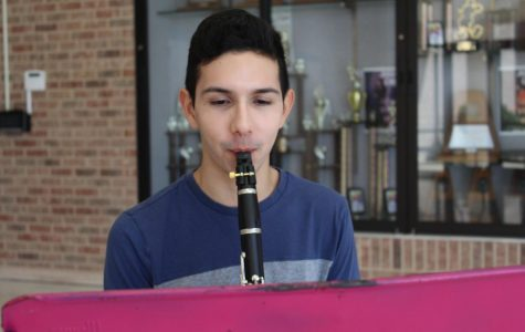 Senior Alex Gutierrez chosen for All-State Band