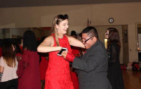 Lifeskills students enjoy annual Valentine's Day dance