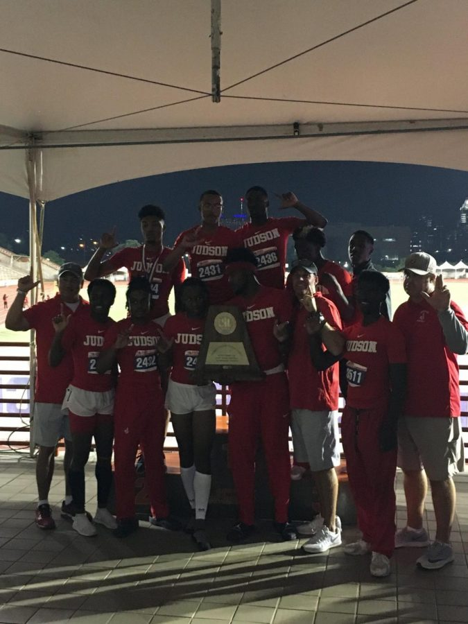 Boy's track teams place second at state