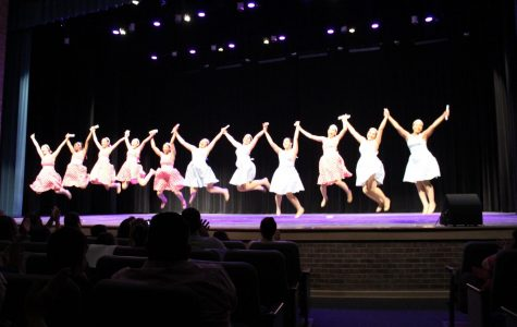 Dancers perform for their last show of the year