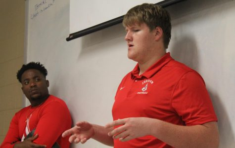 Sophomore Robert Rigsby shares his story about going to FCA camp. The camp set a precedent for students returning to school and keeping their faith alive.