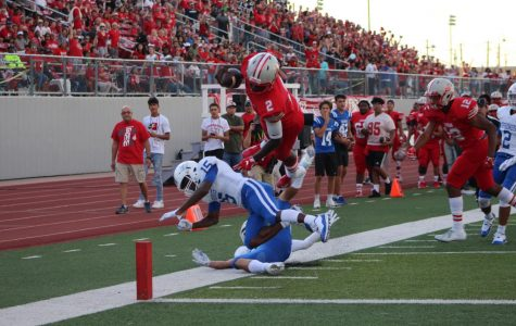Football wins first game against Clear Springs