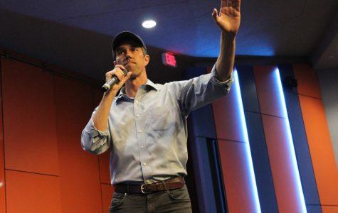 Beto O'Rourke visits UTSA