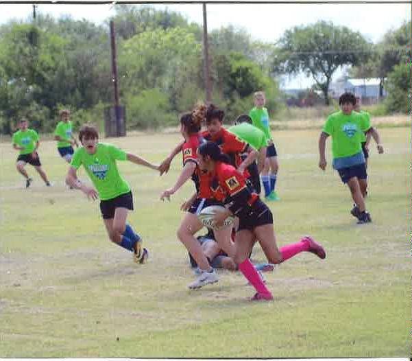 Sophomore Terri Martinez finds unexpected solace in rugby