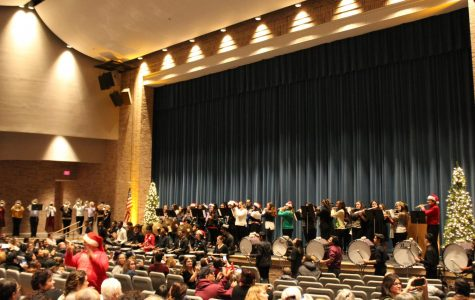 Band holds their annual holiday concert