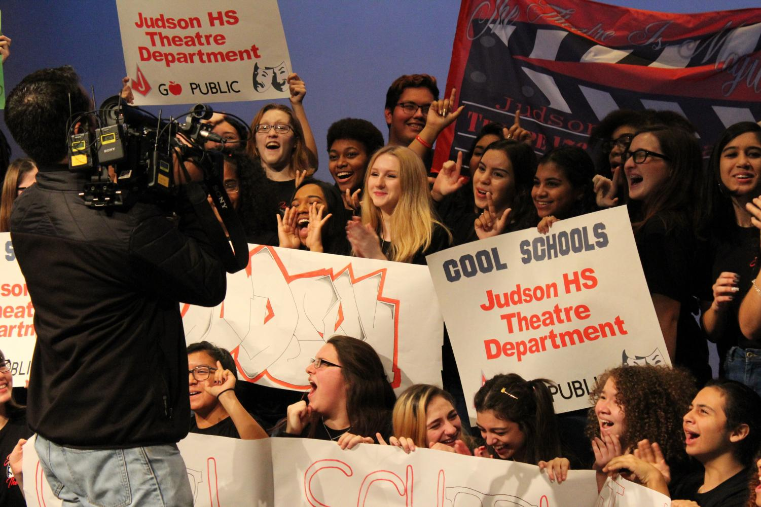 The Judson theater program is celebrating their award from KSAT's 'Cool Schools' contest. Theater will be the major role in the JISD FIne Art Academy this summer.