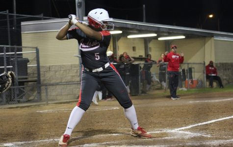 Softball opens district play with win against Steele