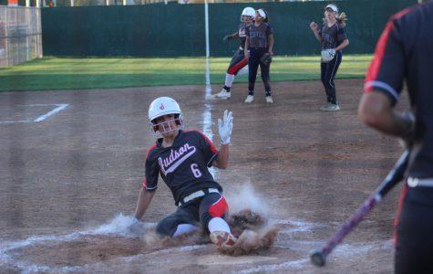 Softball blast by Smithson Valley