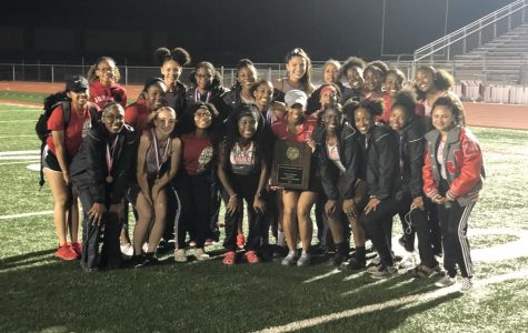 Girls track win district championship, boys place second; both heading to area meet