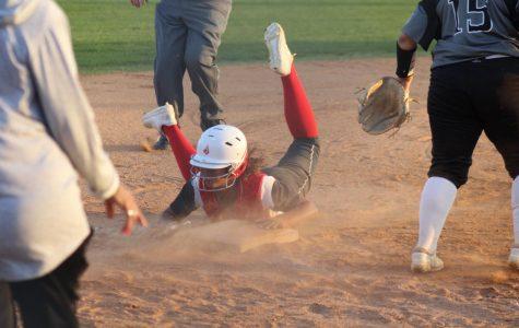 Softball beats Steele