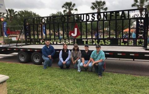 Judson FFA students receive Superior Blue Ribbon