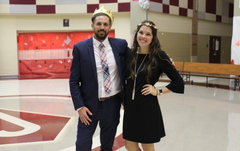 Mrs. Mallory Tesch and Mr. Dylan Stephen crowned as faculty royalty