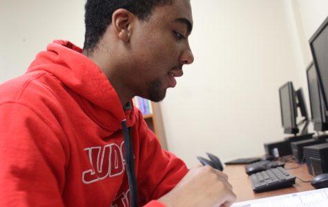 Senior Cameron White earns top scores on five AP exams