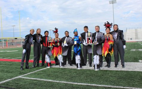 Band wins big at Comal Classic Marching Festival