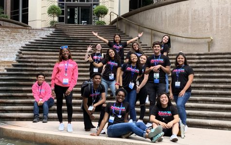 Journalism students present at the Texas Association of Journalism Educators Annual Convention