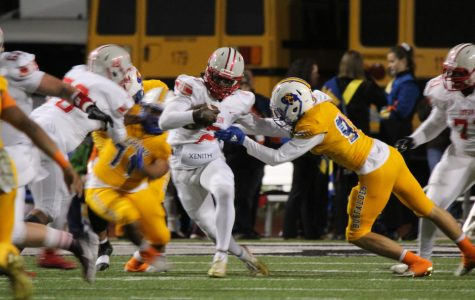 Football falls to Clemens, will face Hays for their first playoff game