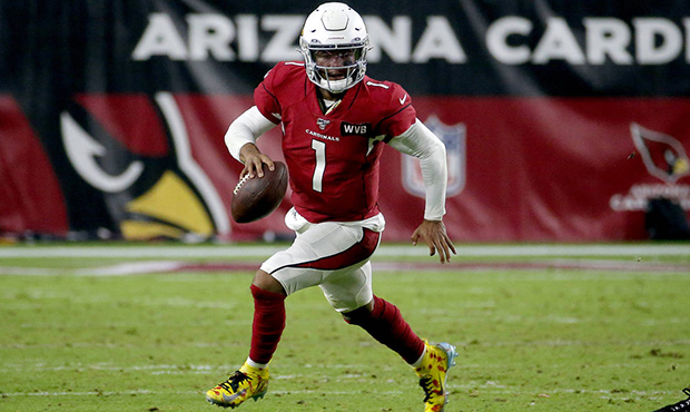 Arizona+Cardinals+quarterback+Kyler+Murray+%281%29+scrambles+against+the+Pittsburgh+Steelers+during+the+second+half+of+an+NFL+football+game%2C+Sunday%2C+Dec.+8%2C+2019%2C+in+Glendale%2C+Ariz.