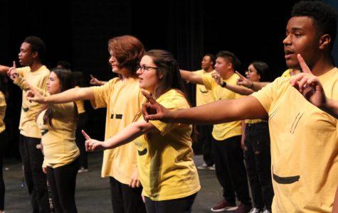 Choir puts on 38th annual Rocket Revue