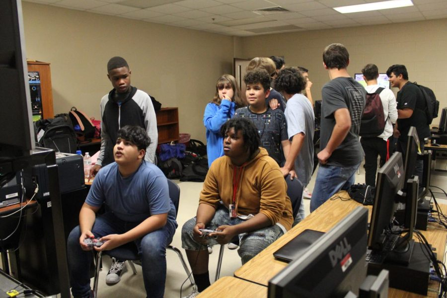 Mr. Core host a Gamers Club every Friday in E218.